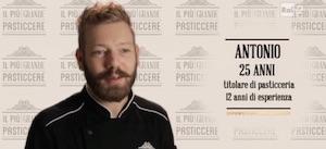 Antonio Daloiso vincitore del il più grande pasticcere italia 2014