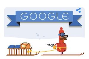 buone feste da google doodle natale 2014 e capodano 2015