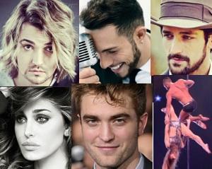 ospiti di verissimo 6 dicembre 2014 Marco Carta, Valerio Scanu, Belen, Pablo Castañón e Robert Pattinson e tu si que vales