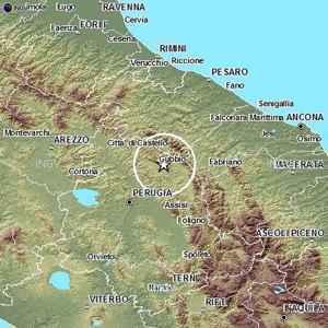 terremoto umbria perugia