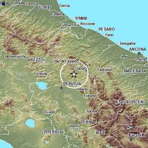 Terremoto Umbria Gubbio