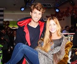 Alejandra Onieva (Soledad Il Segreto) ed il fidanzato Nicolas Labelle, le amiche Megan Montaner e Sandra Cervera