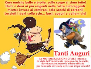 auguri divetenti befana 2015 sms whatsapp facebook instagram twitter biglietti  cartoline