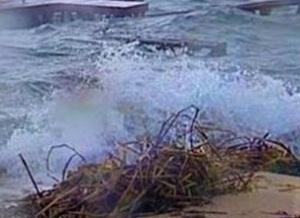 isola dei famosi maltempo rischio per i naufraghi