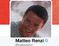 matteo renzi twitter polemica volo di stato in vacanza