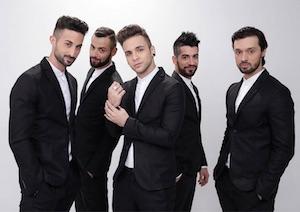 Dear Jack a Sanremo 2015 indossano abiti Obvious Basic