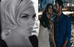 Rocio Munoz Morales a Charlize Theron stessa scena in spot e nel film