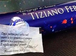 baci perugina tiziano ferro frazi delle sue canzoni nei cioccolatini san valentino