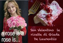 idee regalo ricette san valentino  dolce di giada de laurentiis