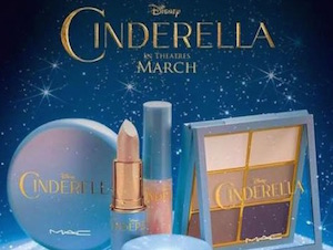 mac cindarella make up liena limitata speciale film disney