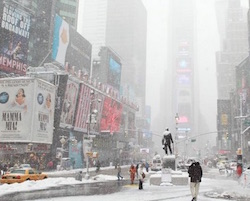 new york neve ghiaccio temperature polari video