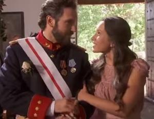 tristan ed aurora nozze di candela e tristan il segreto telenovela