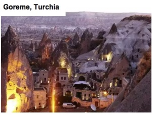 Goreme in turchia