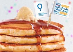 IHOP resturant pancakes waffle toast