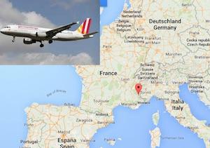 aereo precipita in francia