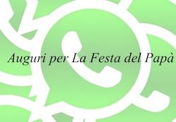 auguri whats app festa del papa