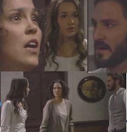 il segreto telenovela la vera aurora smaschera jacinta e tristan scopre la verita carmen e sua figlia aurora