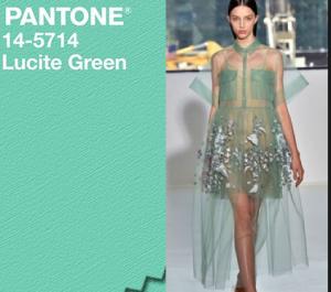 lucite green pantone collezione escape