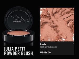 mac julia petit blush 2015 prezzo colore