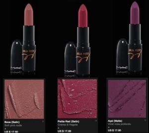 mac julia petit rossetti colori 2015 e prezzi