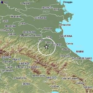 Terremoto oggi forte scossa m4 0 emilia romagna ravenna for Oggi in romagna