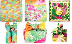 nuovi foulard lush cosmetics