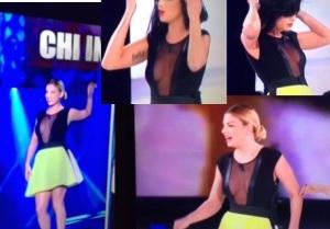 emma marrone senza reggiseno settima puntata serale di amici 2015