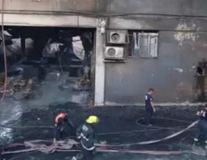incendio nelle filippine a fuoco una fabbrica di infradito a manila