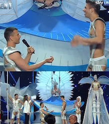 proposta di matrimonio gay ad italias got talent video youtube