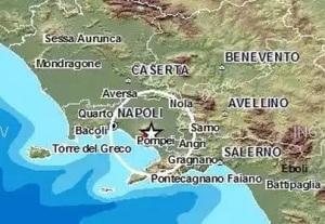 terremoto in tempo reale a napoli campania oggi ultime scosse ultime notizie