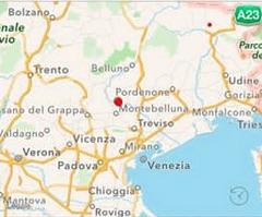 terremoto oggi in tempo reale ultimi terremoti venito treviso mosnigo