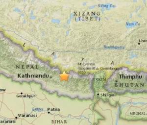 ultimi terremoti in tempo reale in nepal oggi