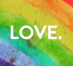 celebrate pride immagine profilo facebook colorata arcobaleno