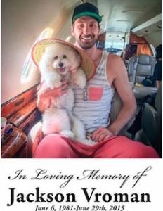 jackson vroman giocatore di basket morto in un incidente stradale
