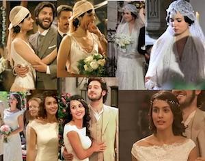 matrimonio il segreto abito da sposa pepa nozze tristan e maria nozze gonzalo e fernando abito chanel