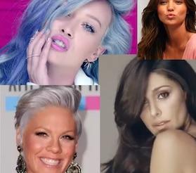 tendenza colore capelli 2015 taglie belen pink hilary duff  moda capelli 2015