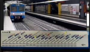 ultime notizie incidente metro b roma palasport tamponamento treni