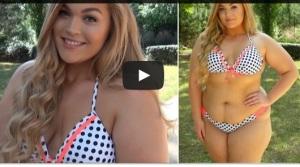 Loey Lane Video Youtube- bikini anche per le ragazze grasse