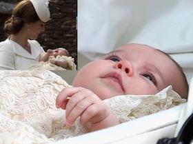 charlotte elizabeth diana principessa e kate middleton foto battesimo omaggio a lady D