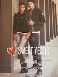 Cecilia Rodriguez e Francesco Monte testimonial per sweet years