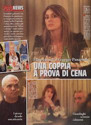 Elisa Isoardi e Giorgio Panariello gossip fidanzata