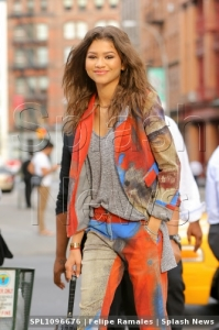 EXCLUSIVE: Zendaya is all stylish while heading to Nobu New York in New York City