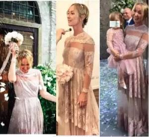 abito da sposa frida giannini matrimonio stilista valentino non gucci ex ditrettrice creativa damigella Greta figlia di frida