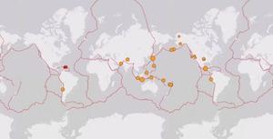 terremoti oggi nel mondo in tempo reale lista live  aumento