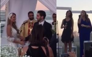 susy fuccillo matrimonio video alleluia cantanta da cassandra e roberta di amici 7