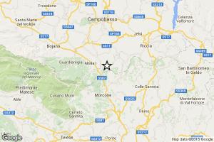 terremoto oggi in tempo reale a benevento scossa di terremoto San Giuliano del Sannio