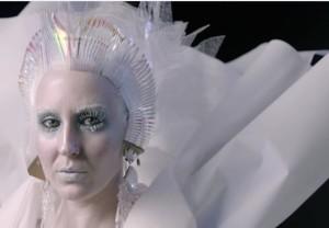 trucco halloween regina del ghiaccio mac cosmetics Lacie Alba