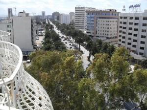 Avenue Mohamed V di Tunisi