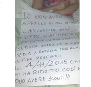 Chiara Insidioso Monda Facebook sconto di pena fidanzato Maurizio Falcioni