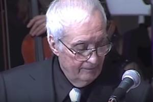 Nando Gazzolo morto moglie e figli tra wikipedia  poesie  video l infinito e voce di Marlon Brando